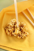 Caramel Popcorn — Stock Photo