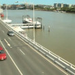 Stock Video: Freeway And Ferries