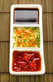 Asian Condiments — Stock Photo