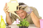 Dedicated Gardener — Stockfoto