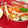 Foto Stock: Cracked Crab
