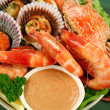 Seafood Platter — Stock Photo
