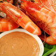Stock Photo: Shrimps And Dip