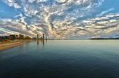 Costa do ouro de runaway bay — Foto Stock