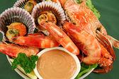 Seafood Platter — Stock Photo
