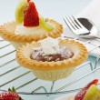 Cream Tarts — Stock Photo