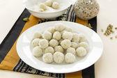 Coconut Cardamon Burfi — Stock Photo