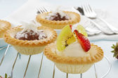 Cream Strawberry Tart — Stock Photo