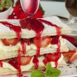 Stock Photo: Strawberry Mille Feuilleb