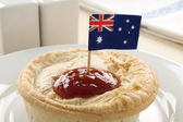 Aussie Meat Pie — Stock Photo