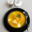 Stock Photo: Hearty Vegetable Soup