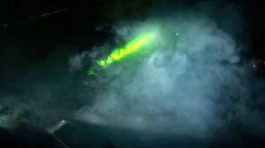 Laserlicht — Stockvideo