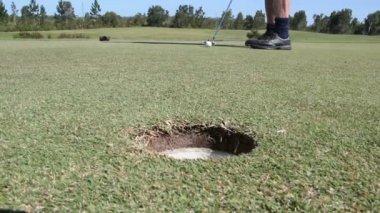 Campo da golf — Video Stock