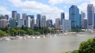 Brisbane City — Stock Video