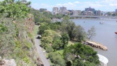 Kangaroo Pt Cliffs Precinct — Stock Video