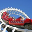 Rollercoaster, Seaworld Gold Coast, Australia — Stock Photo