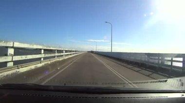 Bridge Driving — Wideo stockowe
