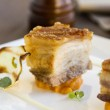 Roasted Pork Belly Cubes — Stock Photo