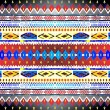 Native american pattern box — Stock Photo