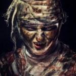 Portrait of scary mummy — Stock Photo #13851562