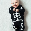 Baby dressed skeleton — Foto de Stock