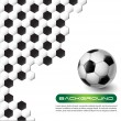 Royalty-Free Stock Vector Image: Soccer vector background