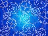 Vector blueprint background — Stock Vector