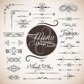 Restaurant menu design template — Stock Vector