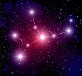 Virgo constellation — Stock Vector