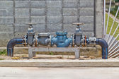 Watervoorziening apparatuur — Stockfoto