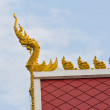 Stock Photo: Roof of Buddism