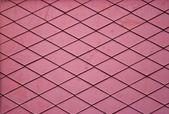 červená asfaltové šindele — Stock fotografie