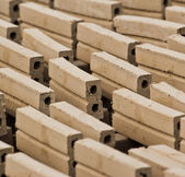 Raw bricks — Stock Photo