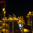 Power station at night — Stock Photo