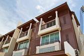 New modern apartments — Stock Photo