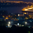 City highway of chonburi thailand at night — Stock Photo