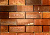 Achtergrond van bakstenen muur textuur — Stockfoto
