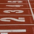 Stock Photo: Racing lanes with numbers
