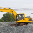 Truck backhoe — Stock Photo #34318219