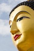 Portrait of Buddha statue — Stock Photo