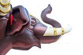 Molded elephant figure — Foto Stock