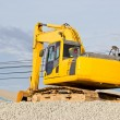 Truck backhoe — Stock Photo #34457779
