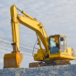 Truck backhoe — Stock Photo #34487979