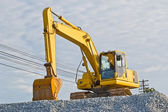 Truck backhoe — Stock Photo