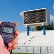 Scoreboard, — Stock Photo