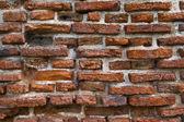 Oude muur in thailand — Stockfoto