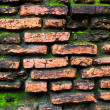 Stock Photo: Old wall at thailand