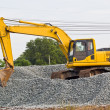 Truck backhoe — Stock Photo #34617747