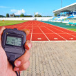 Stopwatch in athletics field — Stock Photo #34640325