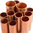 Copper pipe — Stock Photo